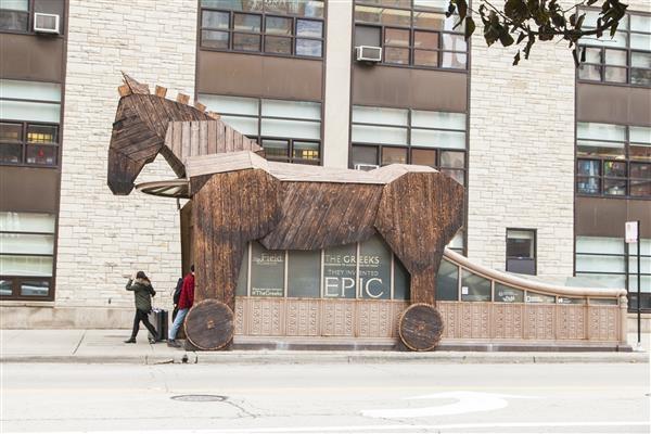 Trojan Horse Outdoor ad